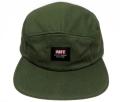 OBEY SARGE 5パネル ストラップバック CAP オリーブ