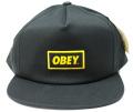 OBEY  スナップバック CAP ''NEW ORIGNAL'' ブラック