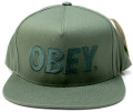 【SALE】 OBEY  スナップバック CAP ''THE CITY'' アーミー