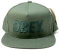【SALE】 OBEY  スナップバック CAP ''THE CITY'' アーミー