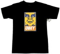 OBEY  ''ORANGE ICON'' Tシャツ