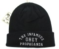 OBEY INFAMOUS  ビーニー ブラック