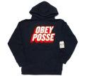 50%OFF ''セール'' OBEY POSSE プルオーバーフードスウェット 2色展開