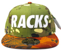 Official RACKS Multi island スナップバック Cap