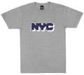 ONLY NY ''NYC Logo'' Tシャツ  アスレチックグレー