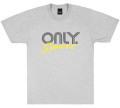 ONLY NY ''Rally LOGO'' Tシャツ ヘザーグレー