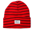 ONLY NY ''STRIPED TOMMY'' beanie レッド
