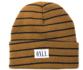 ONLY NY ''STRIPED TOMMY'' beanie カーキ