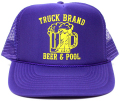 TRUCK BRAND メッシュキャップ BEER&POOL