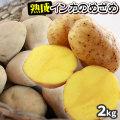 【北海道産じゃがいも 熟成インカのめざめ2kg】 送料無料 ジャガイモ 半年以上も熟成させ、甘さを引き出しました [当店他商品との同梱不可]