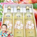 【林檎園GSセット】りんごジュース瓶入3本ギフトセット