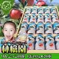 りんごジュース 缶入り 【りんごっこの花 G20】195g×20本