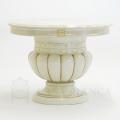 イタリア CAMELGROUP コーナーテーブル 人気 白 鏡面