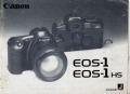 キヤノン EOS-1 EOS-1HS 取り説・使用書