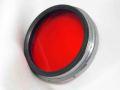 メーカー不明 カブセ式フィルター Φ32  赤