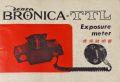 ブロニカ TTL Exposure meter 取り説・使用書