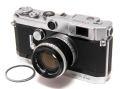 日本製 キヤノン VT de luxe + キヤノン L 50mm1.8 II 黒