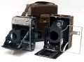 メーカ不明 ハンドカメラ + 折り畳みカメラ 完全ジャンク品