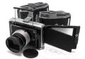 日本製 コンバーチブル ホースマン 純正 ピントフード付 +純正レンズフード + フィルムホルダー