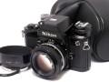 日本製 ニコン F2 フォトミック A 黒 + Ai ニッコール 50mm1.4