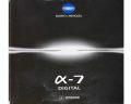 ミノルタ α‐7 digital