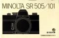 ミノルタ SR 505/101 取り説・使用書