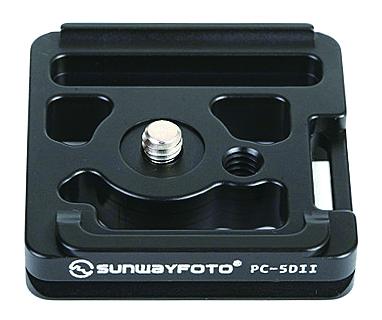 【在庫品大放出!限定1個!】 SUNWAYFOTO 専用クイックリリースプレート PC-5DII