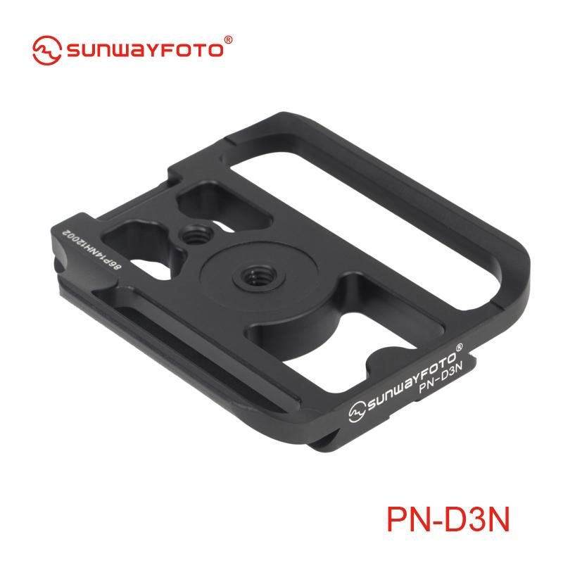 専用クイックリリースプレート ニコンD3/D3S専用 SUNWAYFOTO  PN-D3N