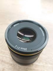 ※展示開封品1台限定 KAMLAN (カムラン)FS 28mm F1.4  フジXマウント用