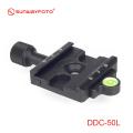 SUNWAYFOTO DDC-50L クイックリリースクランプ