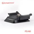 【在庫品大放出!数量限定!】SUNWAYFOTO PS-N5(N5B) 専用クイックリリースプレート