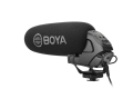 BOYA BY-BM3031 ショットガンコンデンサーマイクロフォン 高品質マイク