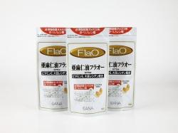 亜麻仁油フラオーカプセル 180粒 3袋セット
