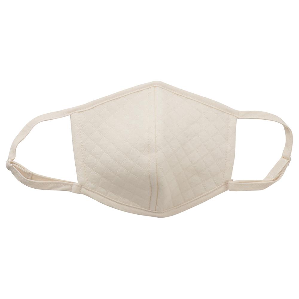 マスク 送料無料 オーガニックコットン中綿以外使用 キルト立体マスク  3色展開 NOCGREEN BLUE認定商品