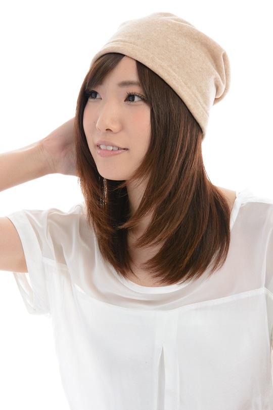 室内用帽子 送料無料 オーガニックコットン 裏毛シングルビーニー 2色展開 NOC日本オーガニックコットン流通機構認定商品 日本製