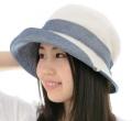 オーガニックコットン・パイルの帽子リバーシブル SIGN F-LABEL