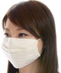 送料無料/オーガニックコットン・無染色・洗える立体形状のマスク NOC(日本オーガニックコットン流通機構)認定商品