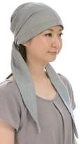 室内帽子 オーガニックコットン・エアリーなバンダナキャップ 3色展開 SIGN F-LABEL NOC(日本オーガニックコットン流通機構)認定商品