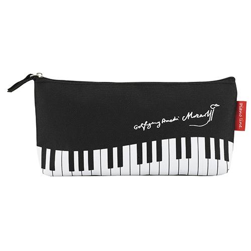 Piano line モーツァルト ペンケース ※お取り寄せ商品 引き出物 記念品 音楽雑貨 音符 ピアノモチーフ ト音記号 ピアノ雑貨