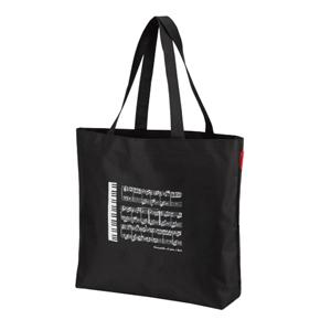Piano line ラージトート(ミニ鍵盤) ※お取り寄せ商品 引き出物 記念品 音楽雑貨 音符 ピアノモチーフ ト音記号 ピアノ雑貨