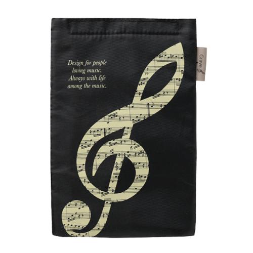 グラーヴェ ペットボトルクーラー ※お取り寄せ商品 引き出物 記念品 音楽雑貨 音符 ピアノモチーフ ト音記号 ピアノ雑貨