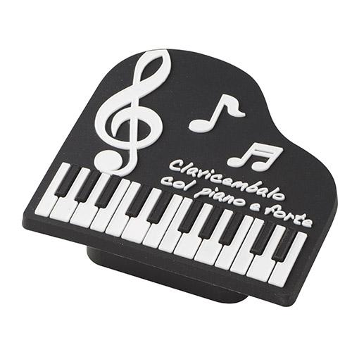 Piano line 鉛筆削り ※お取り寄せ商品 【音楽雑貨 音符・ピアノモチーフ】ト音記号 ピアノ雑貨c