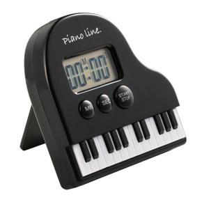 Piano line レッスンタイマー ※お取り寄せ商品 引き出物 記念品 音楽雑貨 音符 ピアノモチーフ ト音記号 ピアノ雑貨
