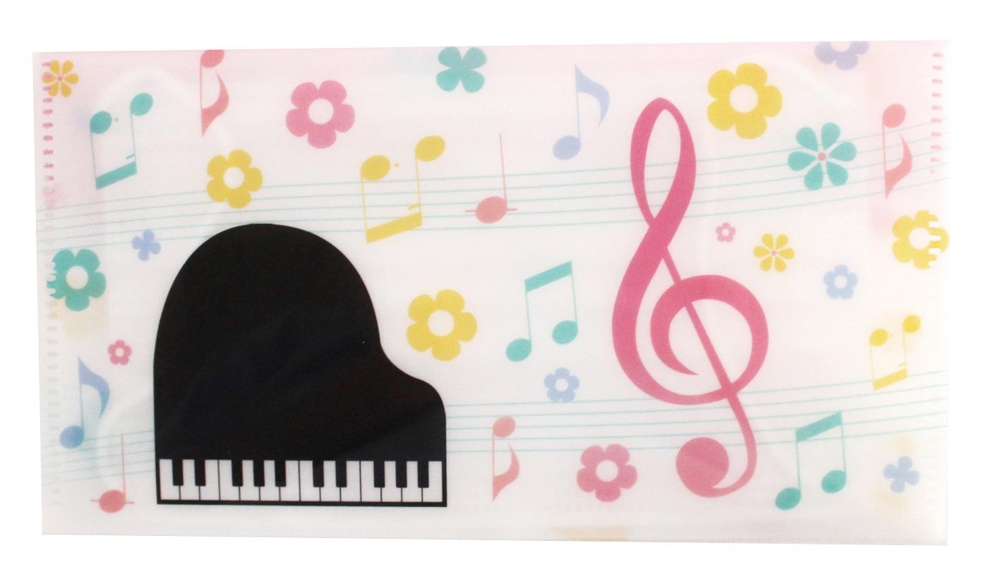 マスクケース ※お取り寄せ商品 引き出物 記念品 音楽雑貨 音符 ピアノモチーフ ト音記号 ピアノ雑貨