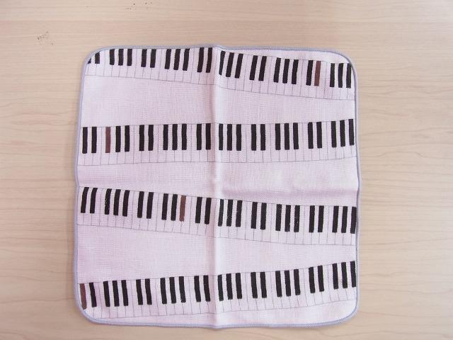 がーぜたおるピアノハンカチ♪ 《日本製》