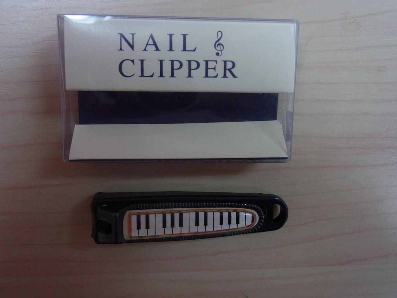 爪切り・ピアノ♪この商品はお取り寄せ商品です♪【ピアノ発表会記念品に最適♪】