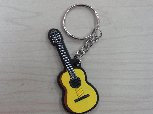クラシックギター ラバーズ キーホルダー♪この商品はお取り寄せ商品です♪【発表会】ブラスバンド 吹奏楽部