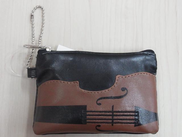 バイオリンコインケース♪※この商品はお取り寄せ商品です♪【ピアノ発表会記念品に最適♪】