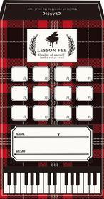 月謝袋 CLASSIC ※お取り寄せ商品 引き出物 記念品 音楽雑貨 音符 ピアノモチーフ ト音記号 ピアノ雑貨