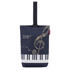 Piano line ハミングシューズケース ※お取り寄せ商品 引き出物 記念品 音楽雑貨 音符 ピアノモチーフ ト音記号 ピアノ雑貨